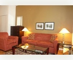 Short term, Fully Furnished, 1 Bedroom, New Doorman Building, and Many Amenities.