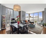 Upper West Side, Luxury Condominium, 10 West End Avenue, Residence 8-H Magnificent, Large Southwest  Corner, Two Bedroom, Two Bath Home , Immaculate Condition,  Contemporary Design