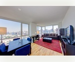 One-of-a-Kind 5 Bedroom / 5 Bathroom Condo in Midtown West. North/South Eastern Exposures ~ Spectacular Hudson River and City Views.