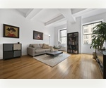 Sunny Open One Bedroom Loft for Rent in Doorman Building Downtown NYC
