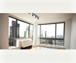 Panoramic Lower Manhattan & East River Views From This Modern, 27th Floor 1 Bed Unit _____ Hardwood Floors, Floor to Ceiling Windows; Doorman Building Close To Herald Square