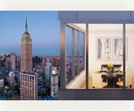 Chelsea / NoMad Luxury 1 Bedroom rental for $4,020.  Full Service, Amenity Rich Luxury High Rise
