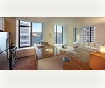 FINANCIAL DISTRICT 1 BEDROOM + HOME OFFICE OR FLEX/2. FULL SERVICE AMENITIES IN LUXURY BUILDING