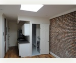 Absolute Steal: One Bedroom with natural skylight, exposed brick, and  W/D in the unit 