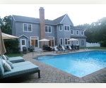 CLOSE TO SAG HARBOR WITH 4 BEDROOMS AND HEATED POOL