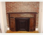 West Village 1 br with laundry, exposed brick and fireplace!