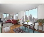 HIGH FLOOR SPACIOUSE 2BED/2.5 BATHS IN UPPER EAST FOR RENT
