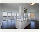 Riverside Blvd Corner Unit overlooking Hudson River // Giant Loft Like 3 Bed 3 Bath // Washer-Dryer // Ultra Modern Living
